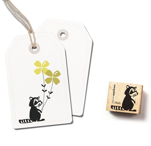 Stamp Racoon Mats
