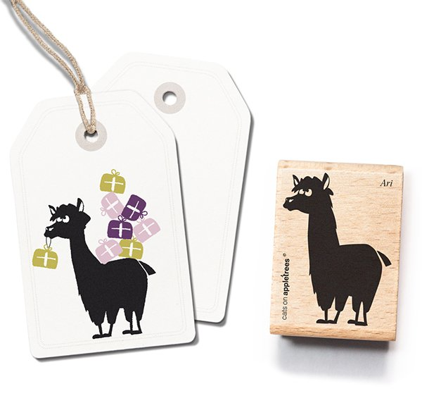 Stamp Ari the Alpaca