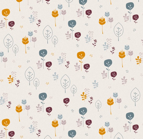 Wrapping Paper V14 - Colorful Flowers