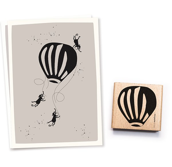 Stamp Hot Air Ballon