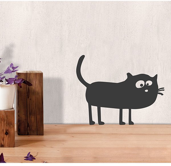 Wallsticker Friedegunde the Cat