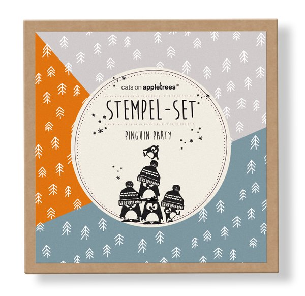 Stempelset 1 - Pinguin Party