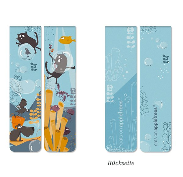 magn. Bookmarks Set 13