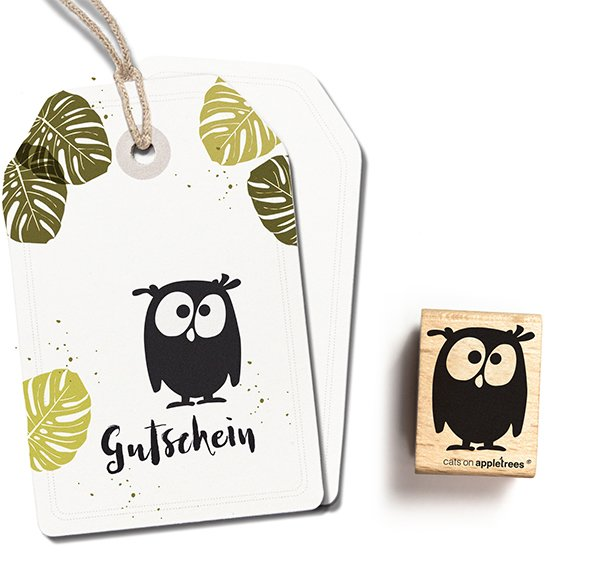 Stamp Owl Mathilda