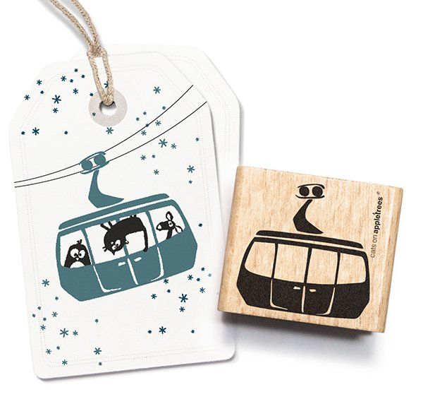 Stamp Cable Car Gondola