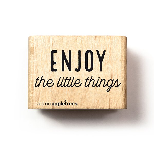 Stempel Enjoy the little things