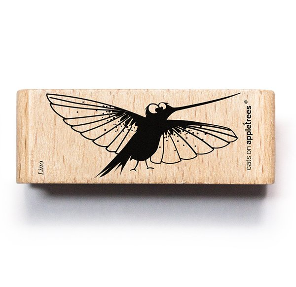 Stamp Lino the Humming-Bird