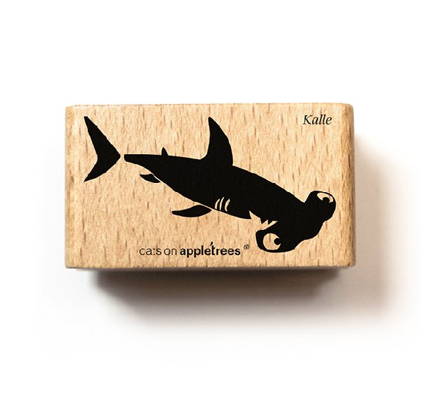 Stamp Kalle the Hammerhead Shark