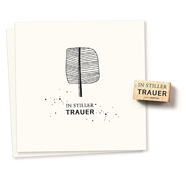 Stamp In stiller Trauer