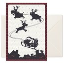 Folded Card Sleigh
