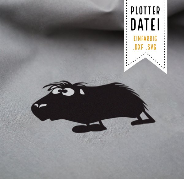 Plotter File Holger the Guinea Pig