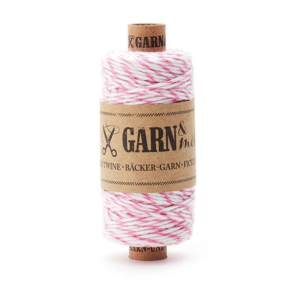 Bakers Twine White-Rose