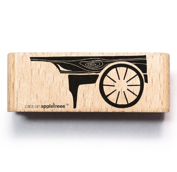 Stamp Wooden Cart