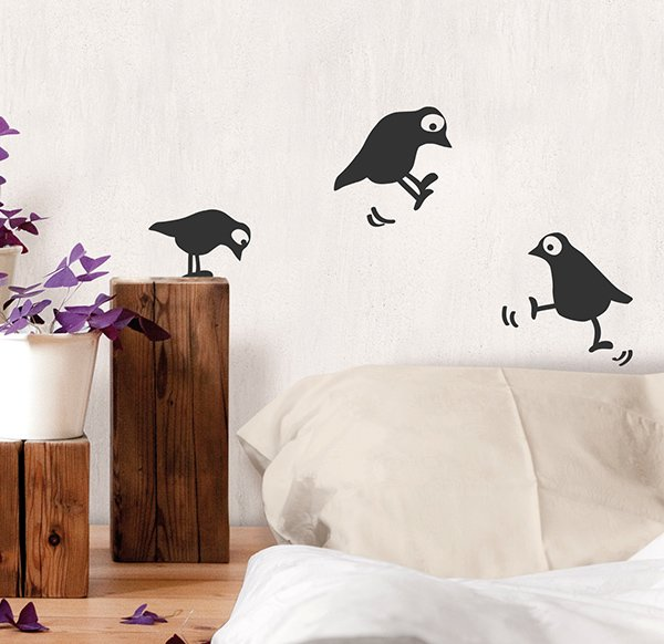 Wallsticker Birds 2