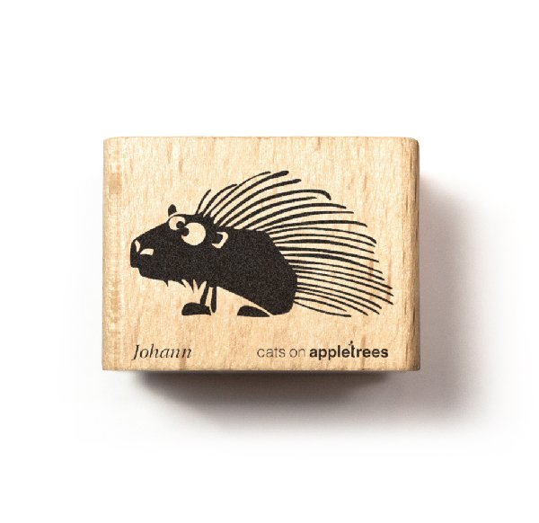 Stamp Johann the Porcupine