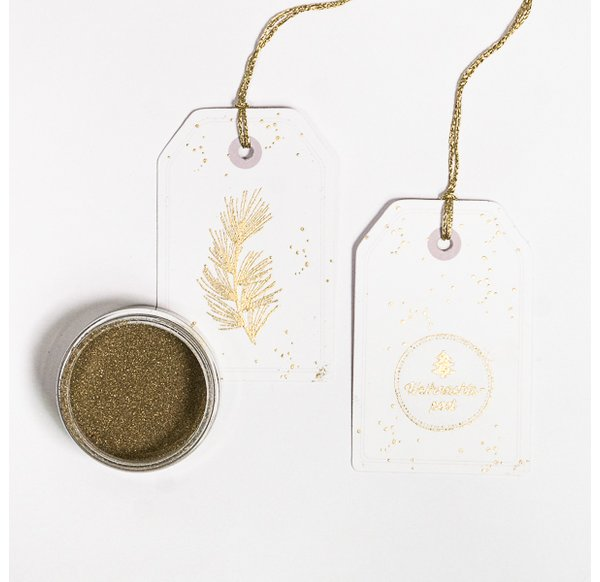 Stardust Embossing Powder - Fine Gold