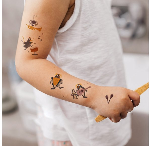 Temporary Tattoo - Wild Combo