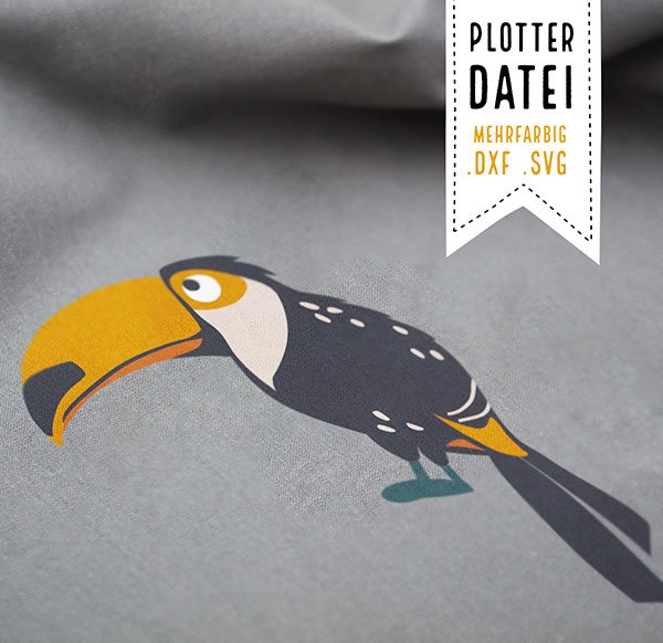 Plotter File Klaus-Dieter the Toucan
