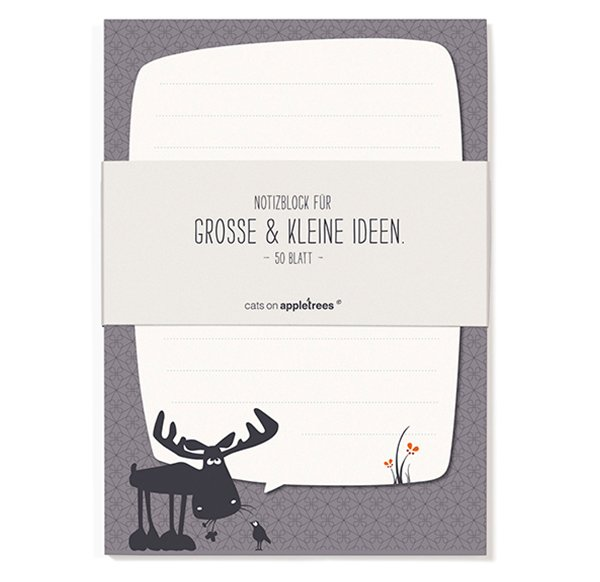 Notepad A6 - Moose
