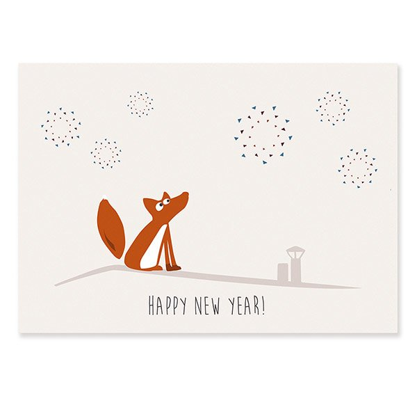 Postcard Happy New Year (Ewald)