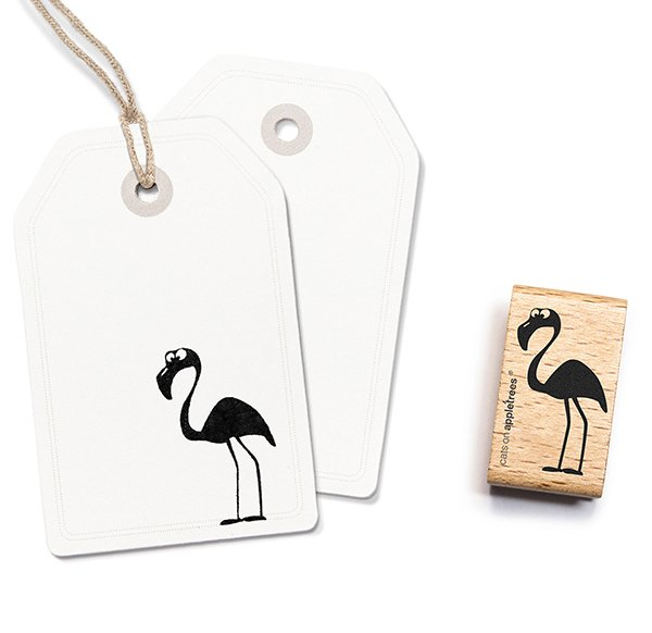 Stempel Flamingo Héribert