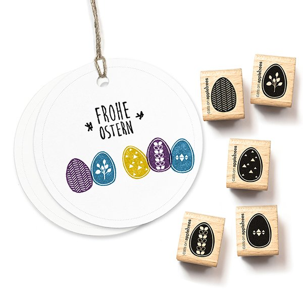 Stamp Set Easter Eggs