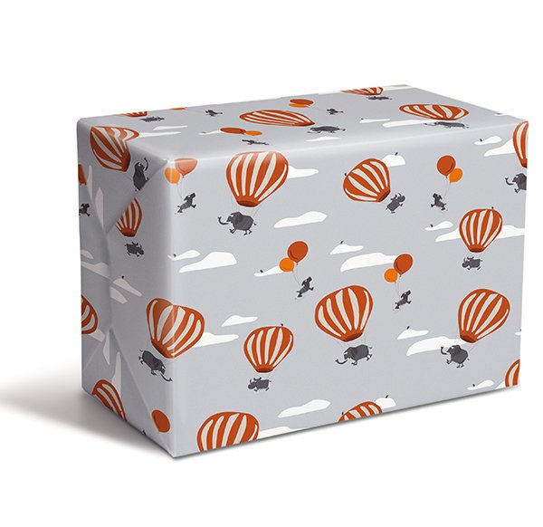 Wrapping Paper V11 Balloons