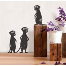 Wallsticker Meerkats