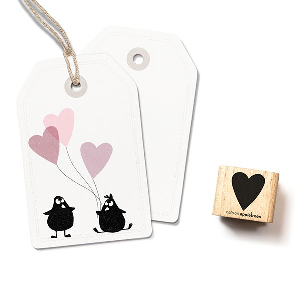 Stamp Heart (medium)