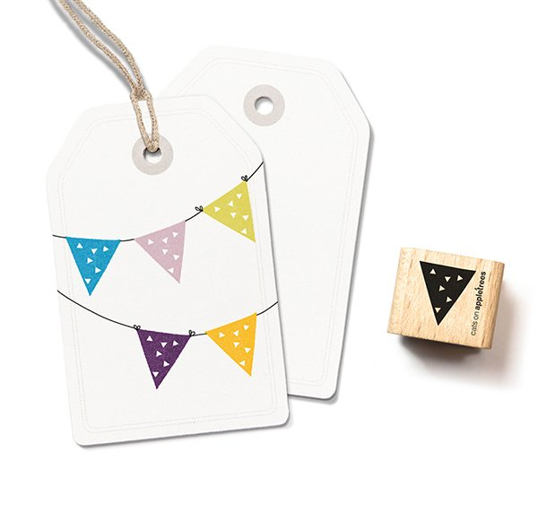 Stamp Pennant 1 (Triangles)