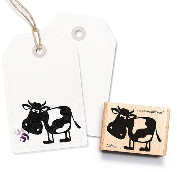 Stamp Lisbeth, the cow