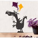 Wallsticker Dragon with Kites